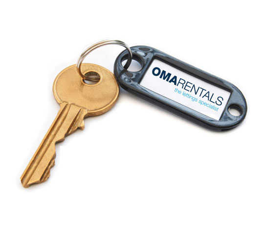 Omarentals Branded House Key